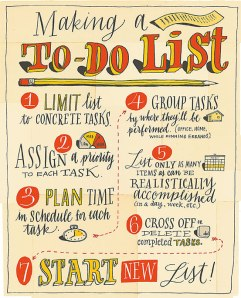 To Do list infographic